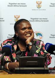 Faith Muthambi smiling