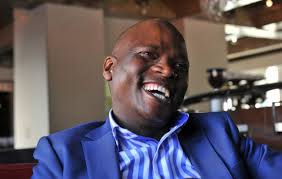 Hlaudi Motsoeneng Laughing