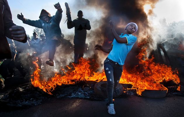 Image result for south african violent riots